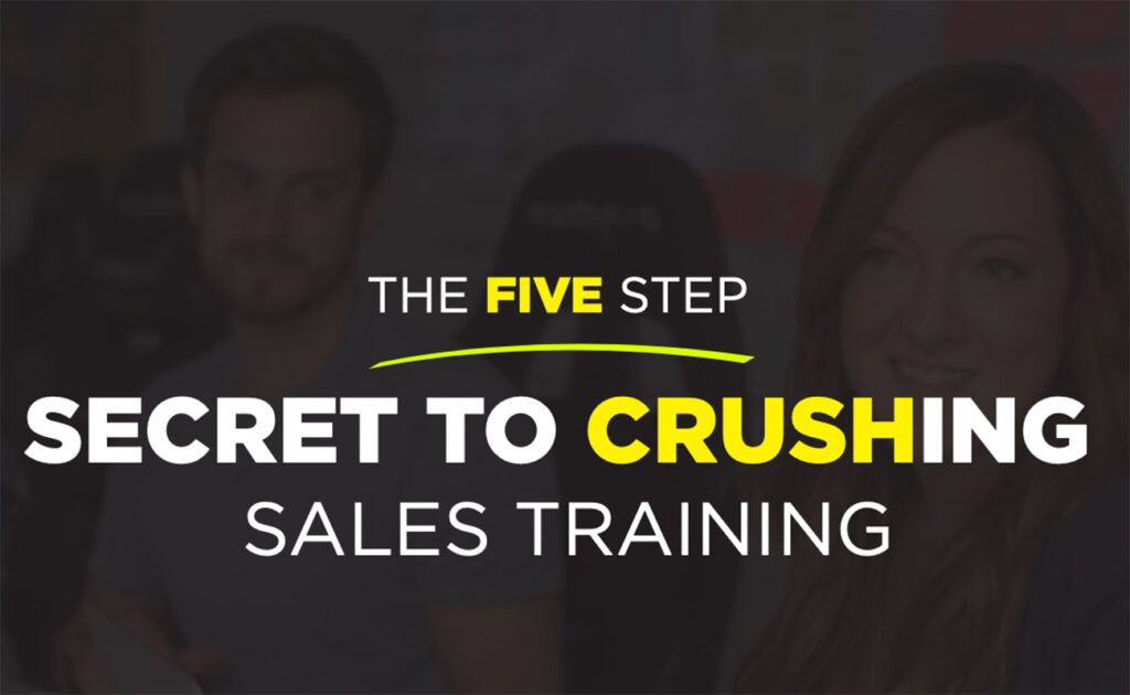 CRUSH Sales Training