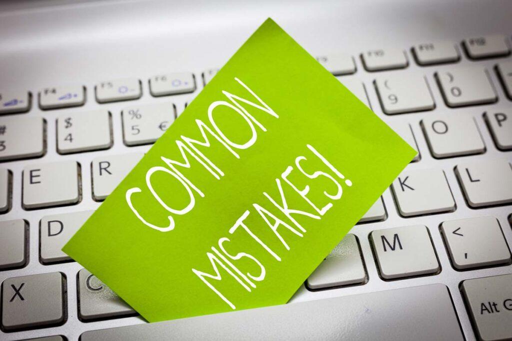 Content Development Mistakes