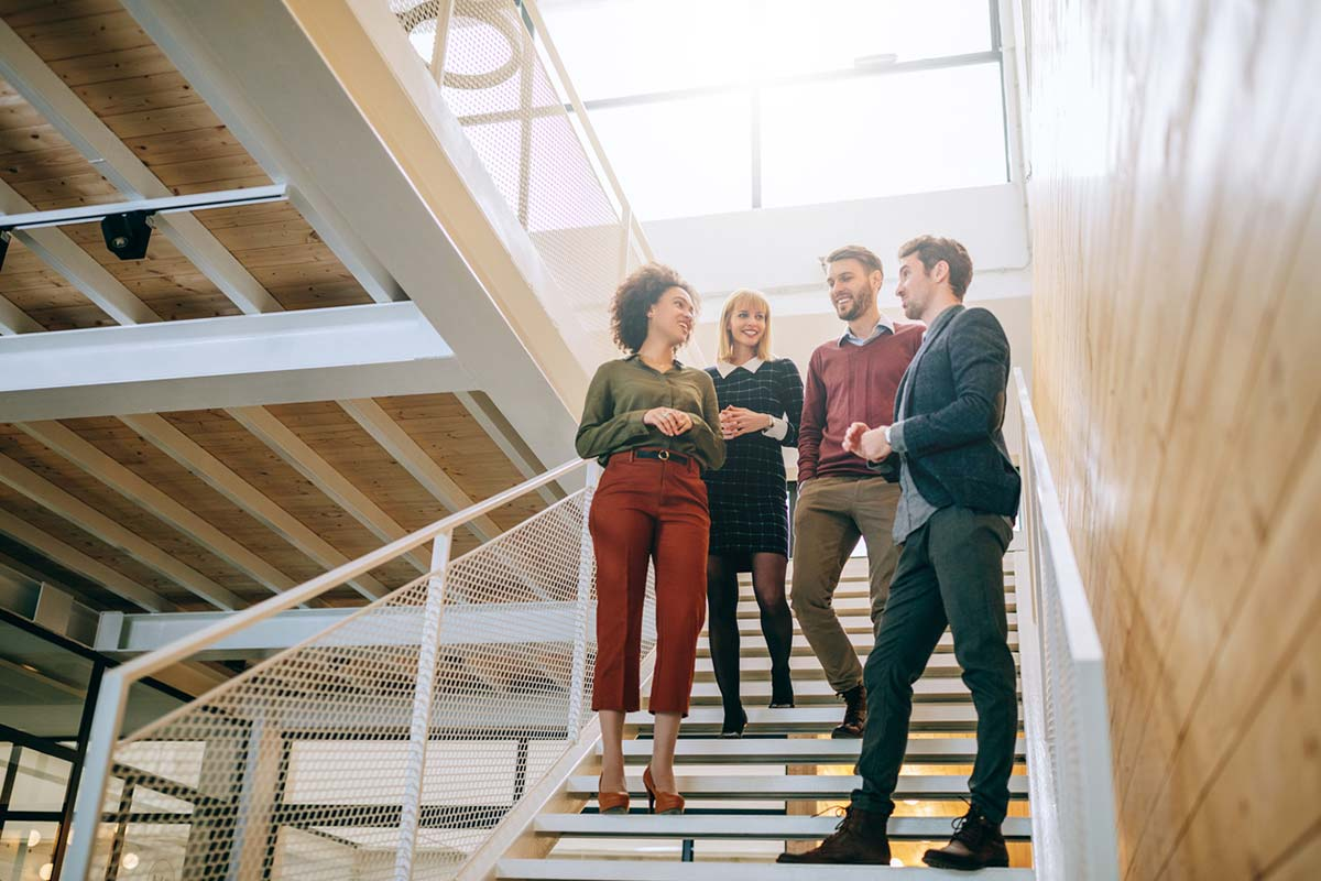 Art of the check-in, Staying connected workplace development