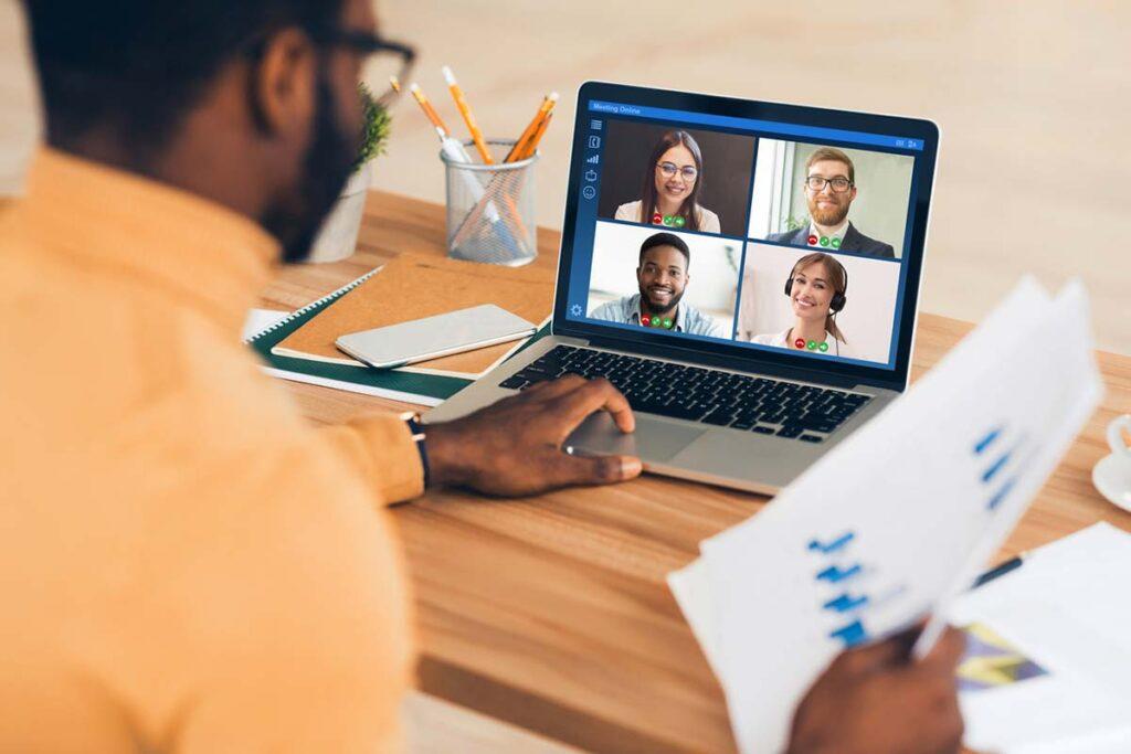 Virtual presentation learning strategy