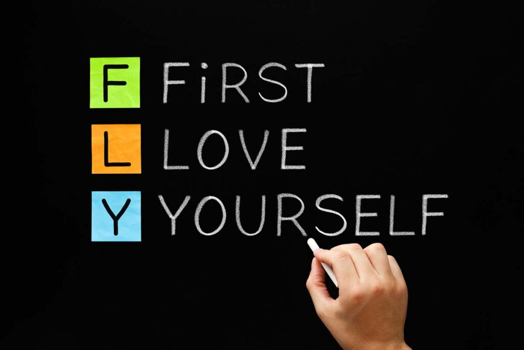 Self-compassion learning strategy