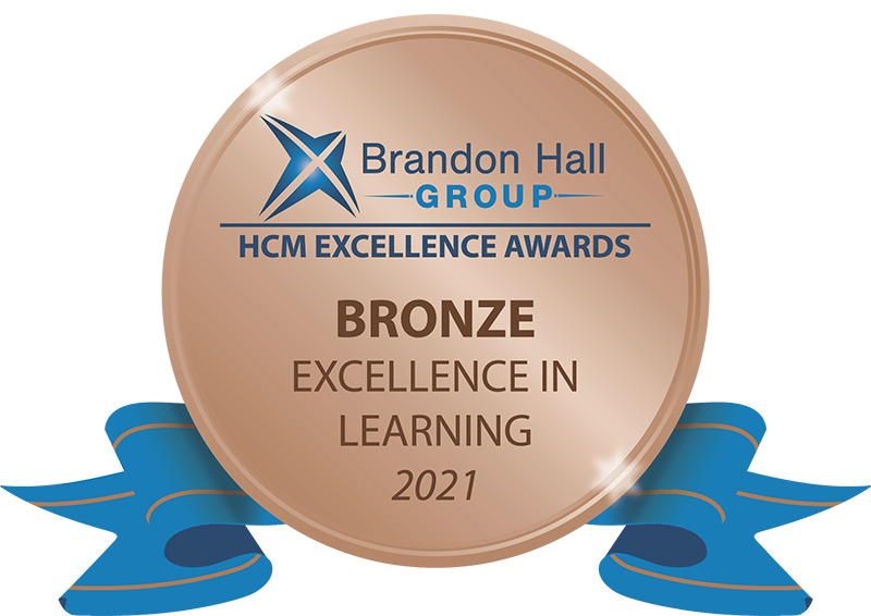 Brandon Hall Learning Award